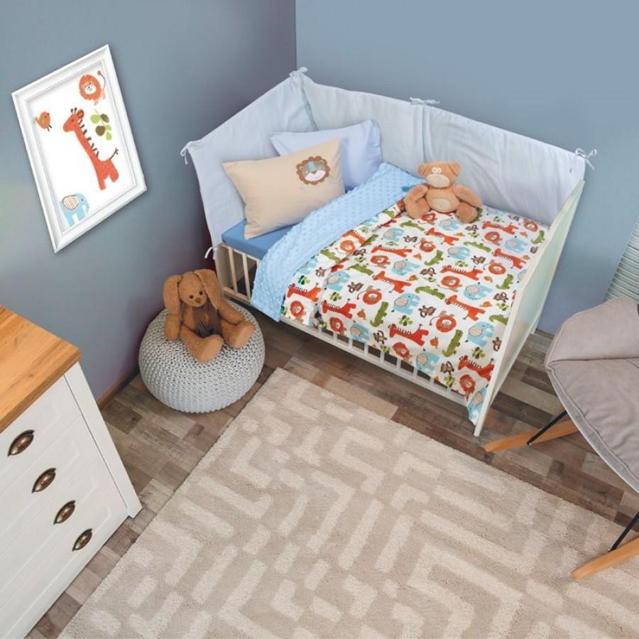 6548 Κουβέρτα bubble fleece Relax Das Home 75x110