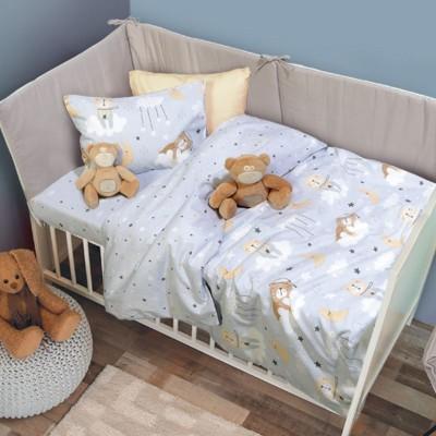 6554 Σετ Σεντόνια Baby Fun Das Home 120x170