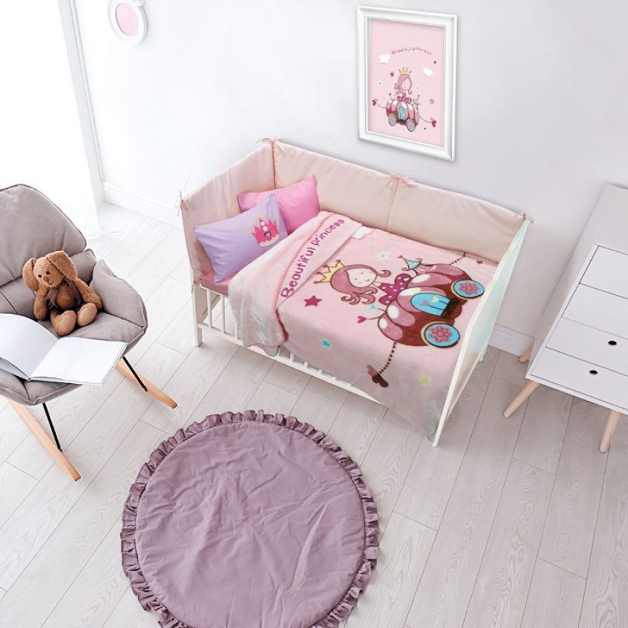 6563 Κουβέρτα Velour Relax Das Home 110x140