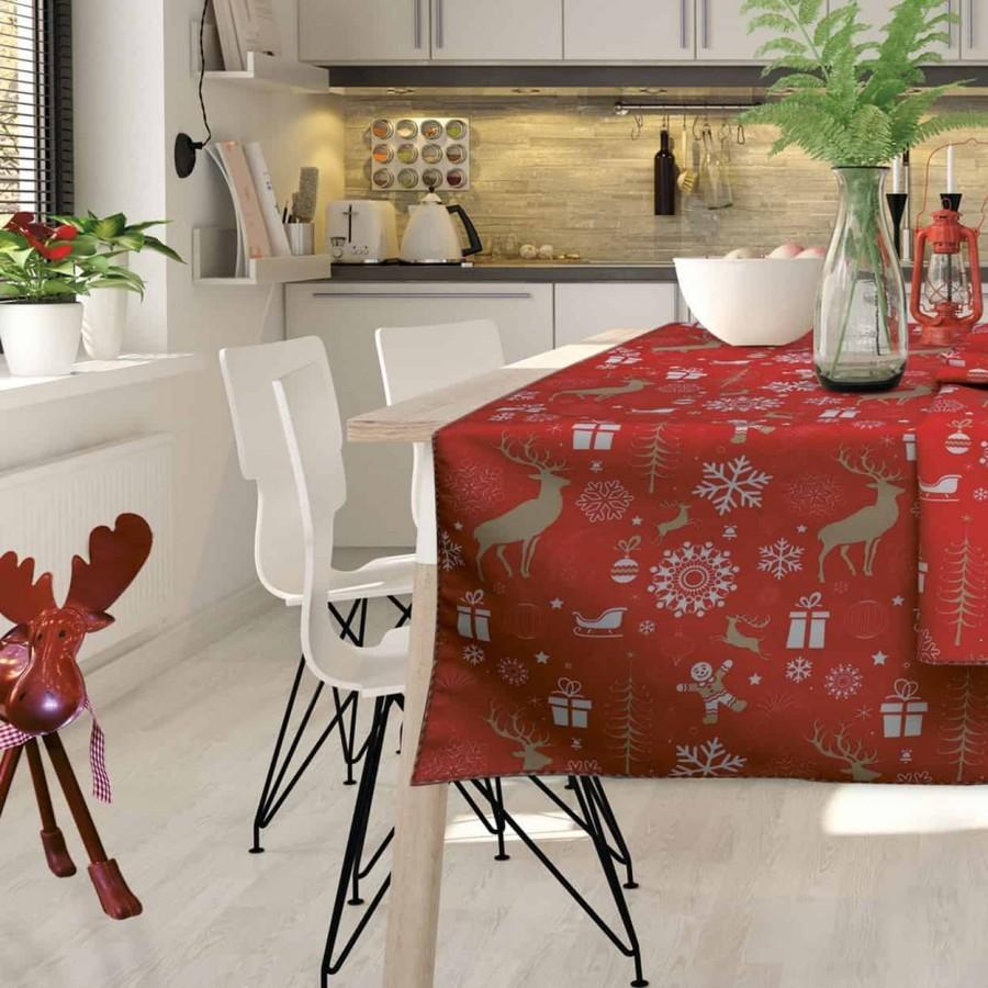 Χριστουγεννιάτικο τραπεζομάντηλο 549 140x240