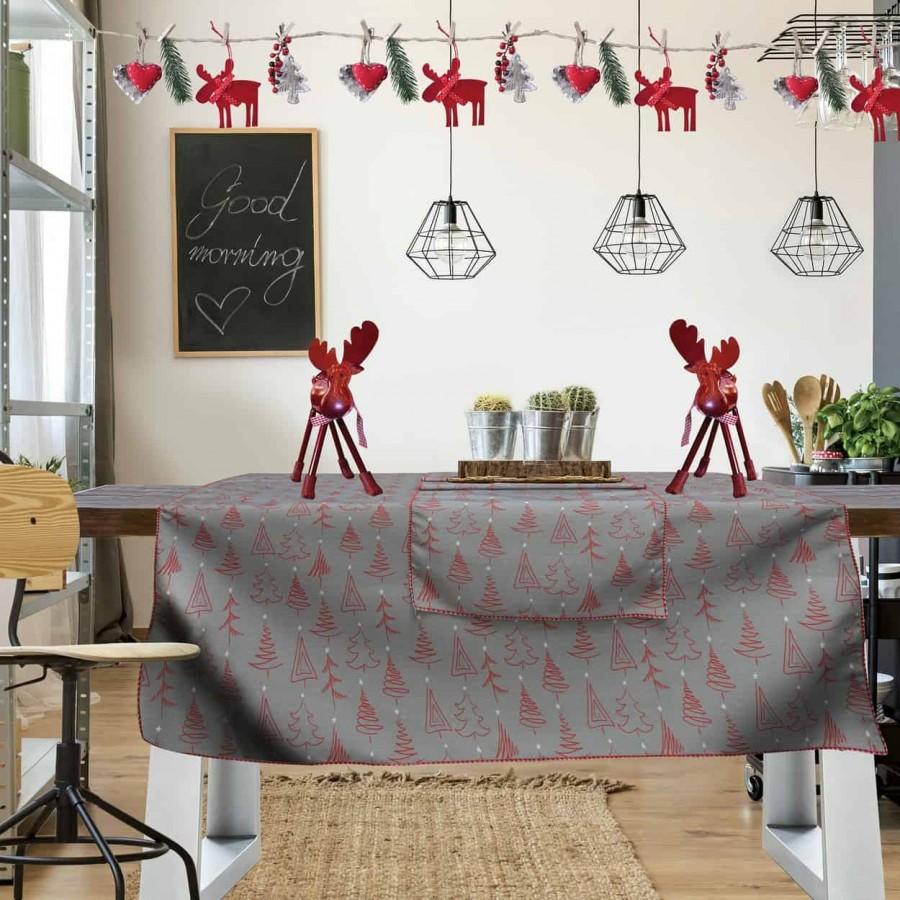 Χριστουγεννιάτικο τραπεζομάντηλο 551 140x240