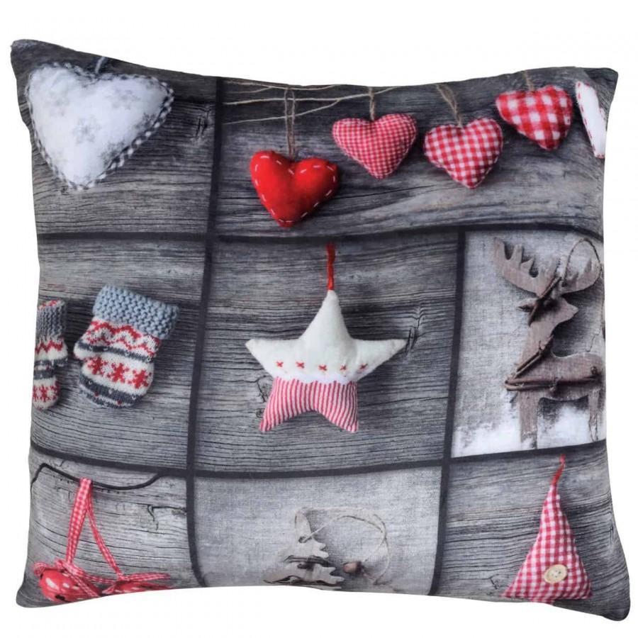 Διακοσμητικό μαξιλάρι das home χριστουγεννιάτικo 411  40x40