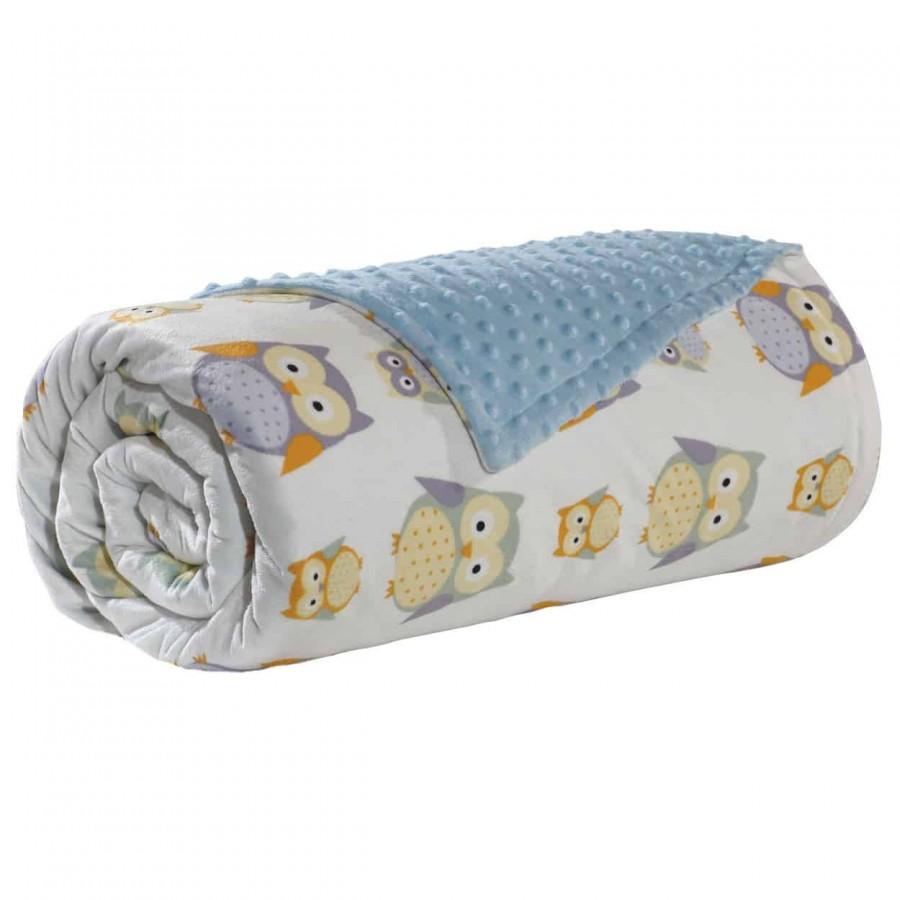 Κουβέρτα Αγκαλιάς Fleece Das Home 6484 75x110