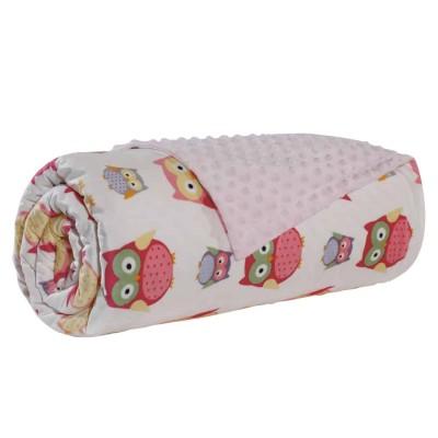 Κουβέρτα Αγκαλιάς Fleece Das Home 6485 75x110