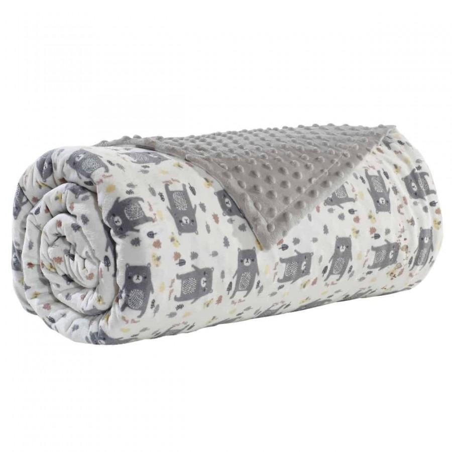 Κουβέρτα Αγκαλιάς Fleece Das Home 6486 75x110
