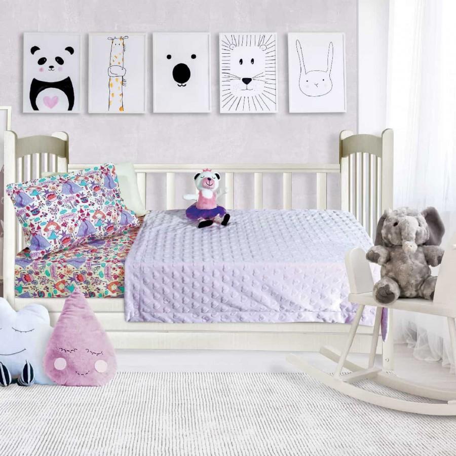 Κουβέρτα Fleece Αγκαλιάς Das Baby Relax 6364 110x150