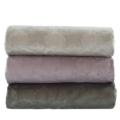 Κουβέρτα Υπέρδιπλη Fleece ανάγλυφη das home 419 220x240