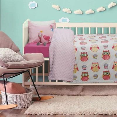 Κουβέρτα Κούνιας Fleece Das Home 6485 110x150