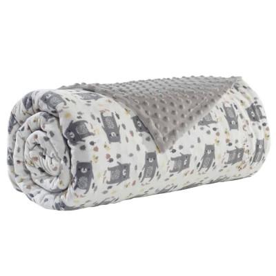 Κουβέρτα Κούνιας Fleece Das Home 6486 110x150