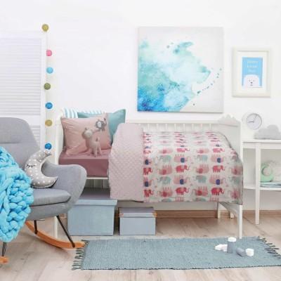 Κουβέρτα Κούνιας Fleece Das Home 6487 110x150