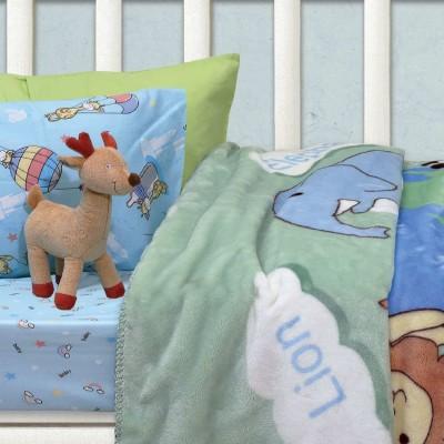 Κουβέρτα Κούνιας Βελουτέ Das home 6427 110x140