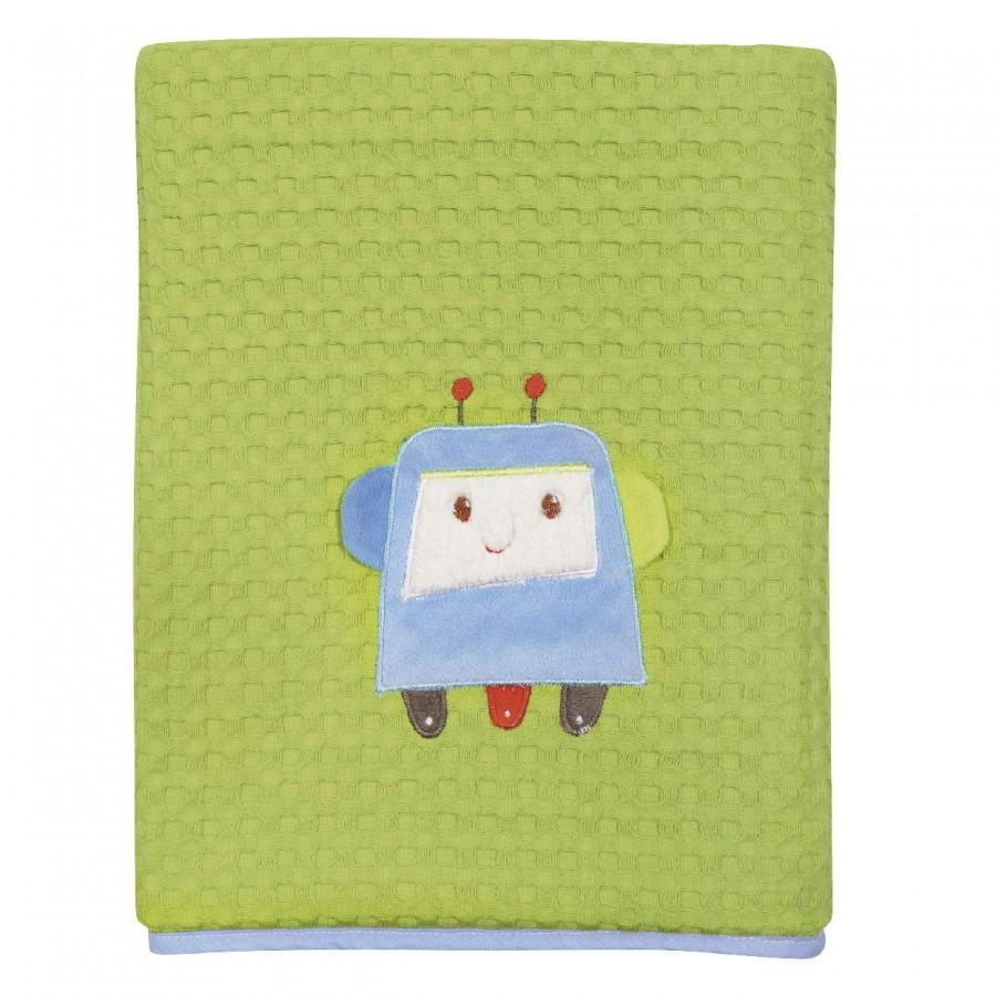 Κουβέρτα Πικέ Αγκαλιάς Das Baby 6397 110X150
