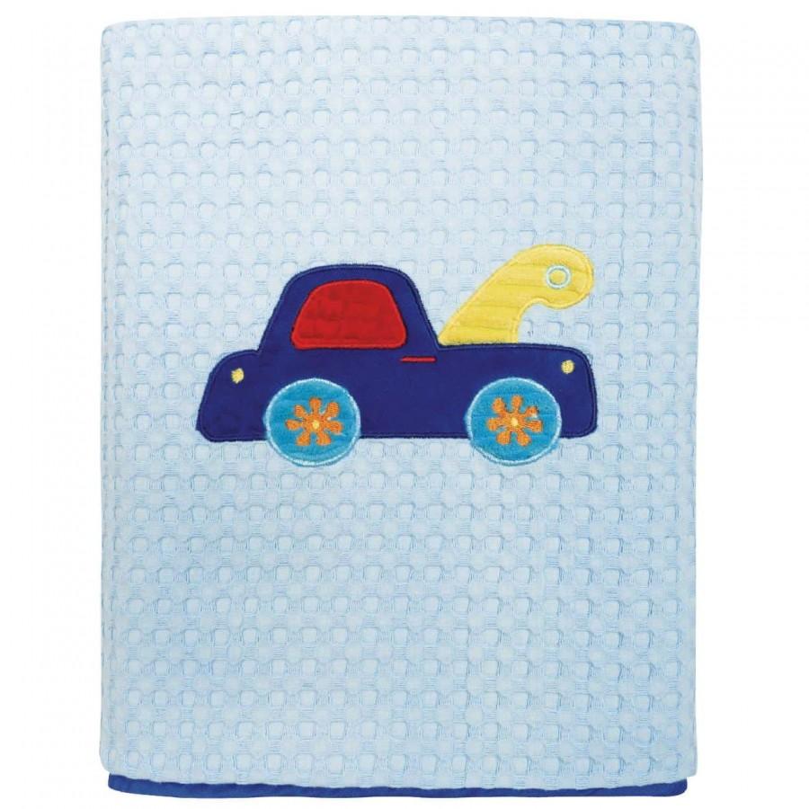 Κουβέρτα Πικέ Αγκαλιάς Das Baby Dream 6393 80x110