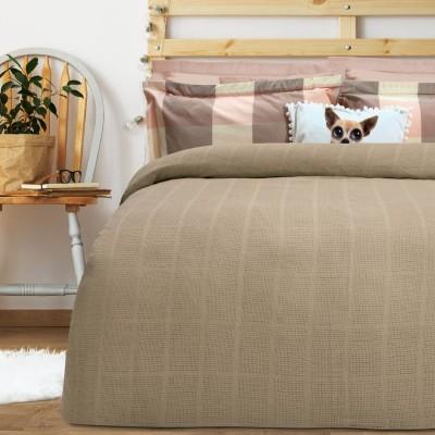 Κουβέρτα Πικέ Υπέρδιπλη Das home Blanket Line 374 220x240