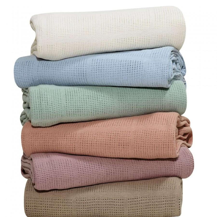 Κουβέρτα Πικέ Υπέρδιπλη Das home Blanket Line 375 220x240