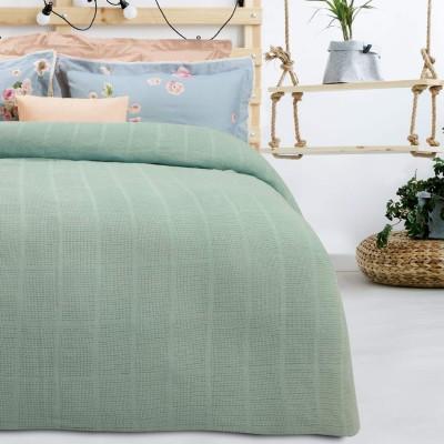 Κουβέρτα Πικέ Υπέρδιπλη Das home Blanket Line 376 220x240