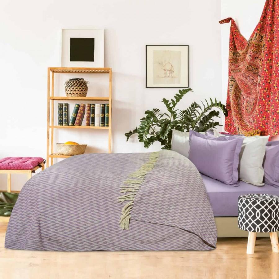 Κουβέρτα Πικέ Υπέρδιπλη με Κρόσια Das Home 379 230x260