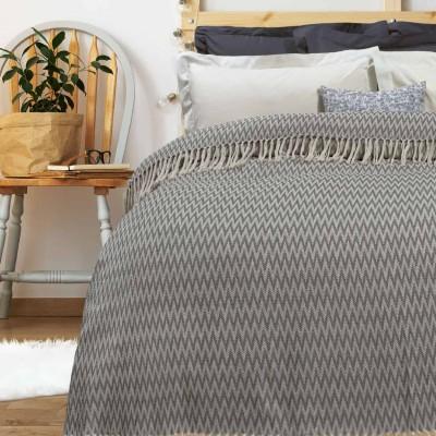 Κουβέρτα Πικέ Υπέρδιπλη με Κρόσια Das Home 381 230x260