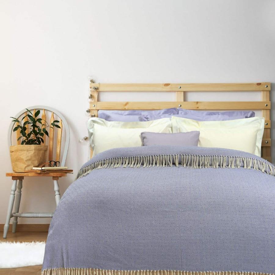 Κουβέρτα Πικέ Υπέρδιπλη με Κρόσια Das Home 382 230x260