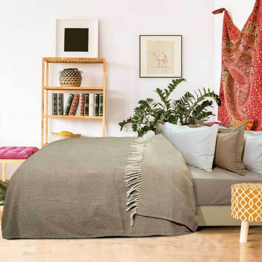 Κουβέρτα Πικέ Υπέρδιπλη με Κρόσια Das Home 383 230x260