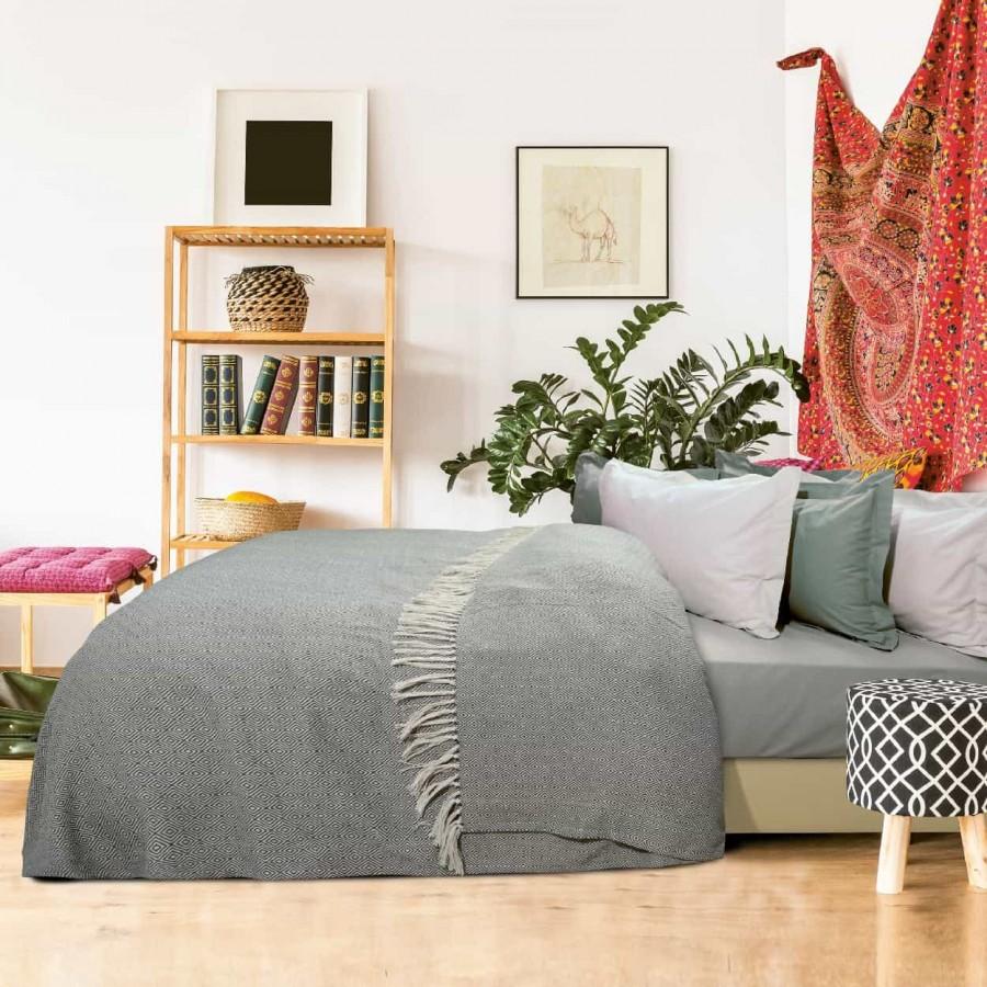 Κουβέρτα Πικέ Υπέρδιπλη με Κρόσια Das Home 384 230x260