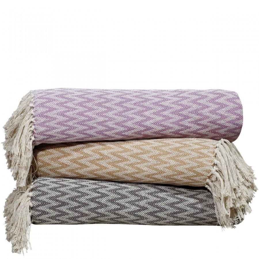 Κουβέρτα Πικέ Μονή με Κρόσια Das Home 381 170x260