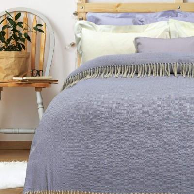 Κουβέρτα Πικέ Μονή με Κρόσια Das Home 382 170x260