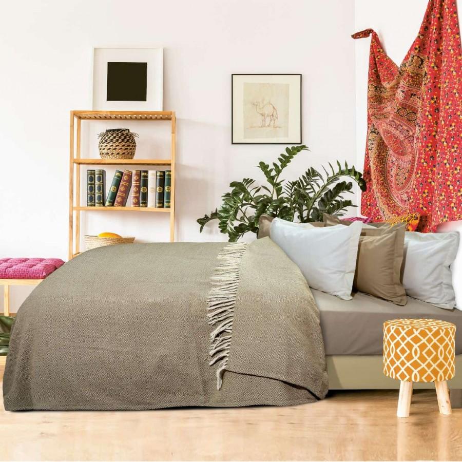Κουβέρτα Πικέ Μονή με Κρόσια Das Home 383 170x260
