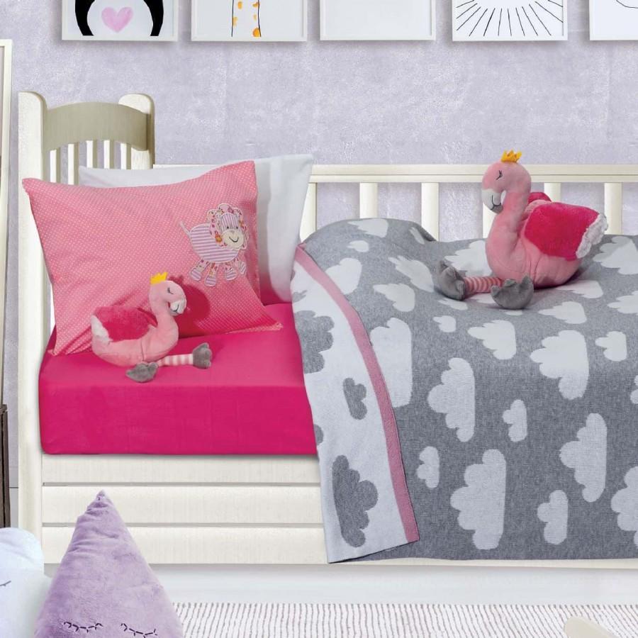 Κουβέρτα Πλεκτή Αγκαλιάς Das Home 6479 70x100
