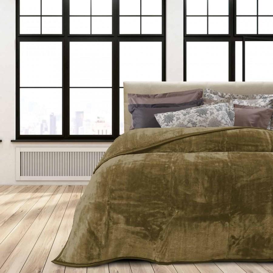 Κουβέρτα Βελουτέ Υπέρδιπλη Das Home 392 220x240