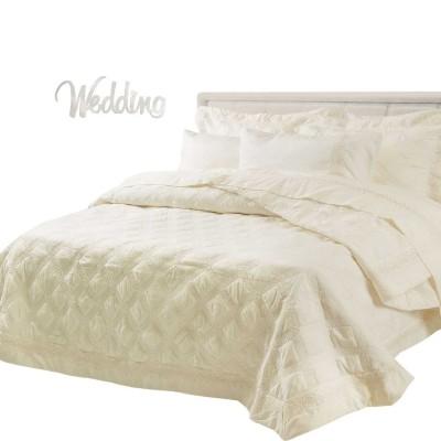 Νυφικό Σετ Das Home 7 τμχ Wedding Line 7033 220x240 Εκρού