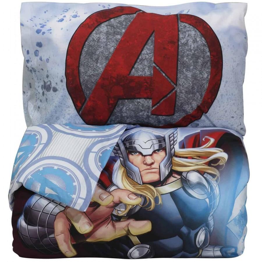Πάπλωμα Μονό Avengers Marvel Σετ 5006 160x240