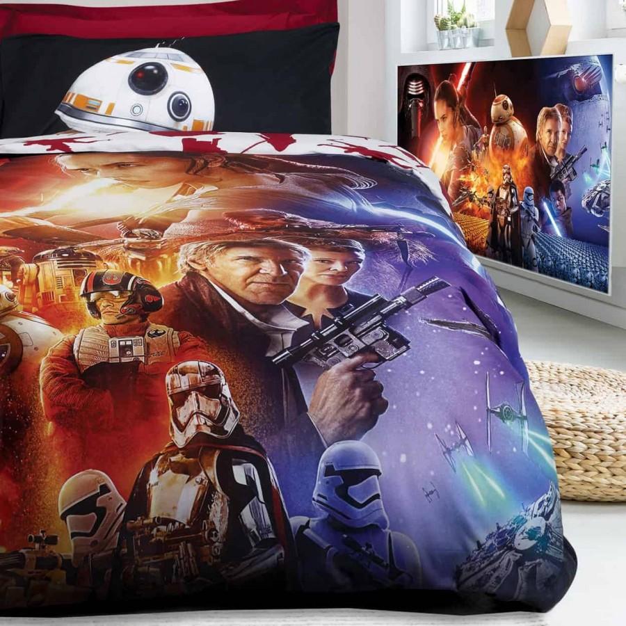 Πάπλωμα Μονό Starwars Disney Σετ 5007 160x240