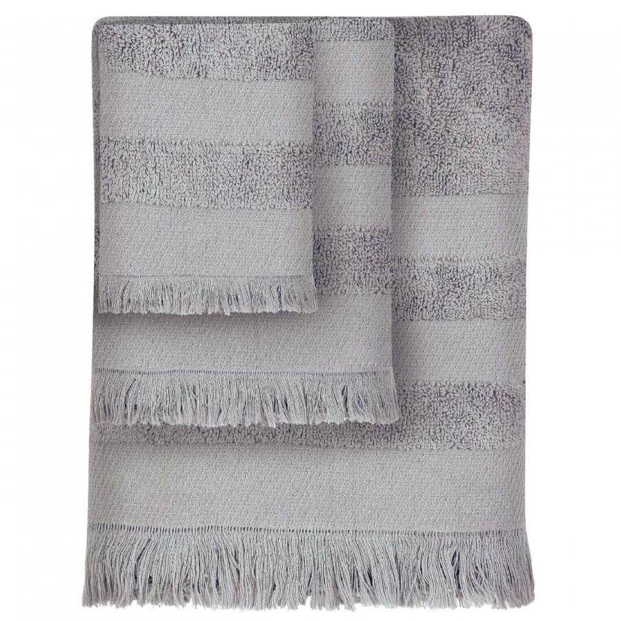 Πετσέτες Μπάνιου Das Home 348 Simple Σετ 3τμχ