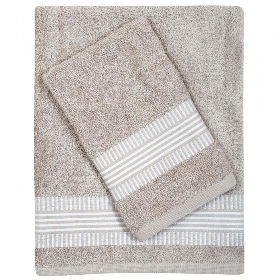 Πετσέτες Μπάνιου Das Home Best 346 Σετ 3τμχ