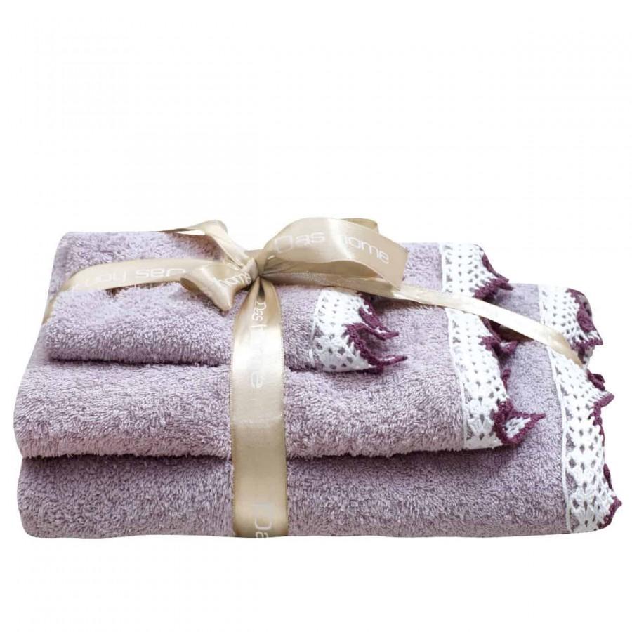 Πετσέτες Μπάνιου Das Home Prestige Line 310 Σετ 3τμχ
