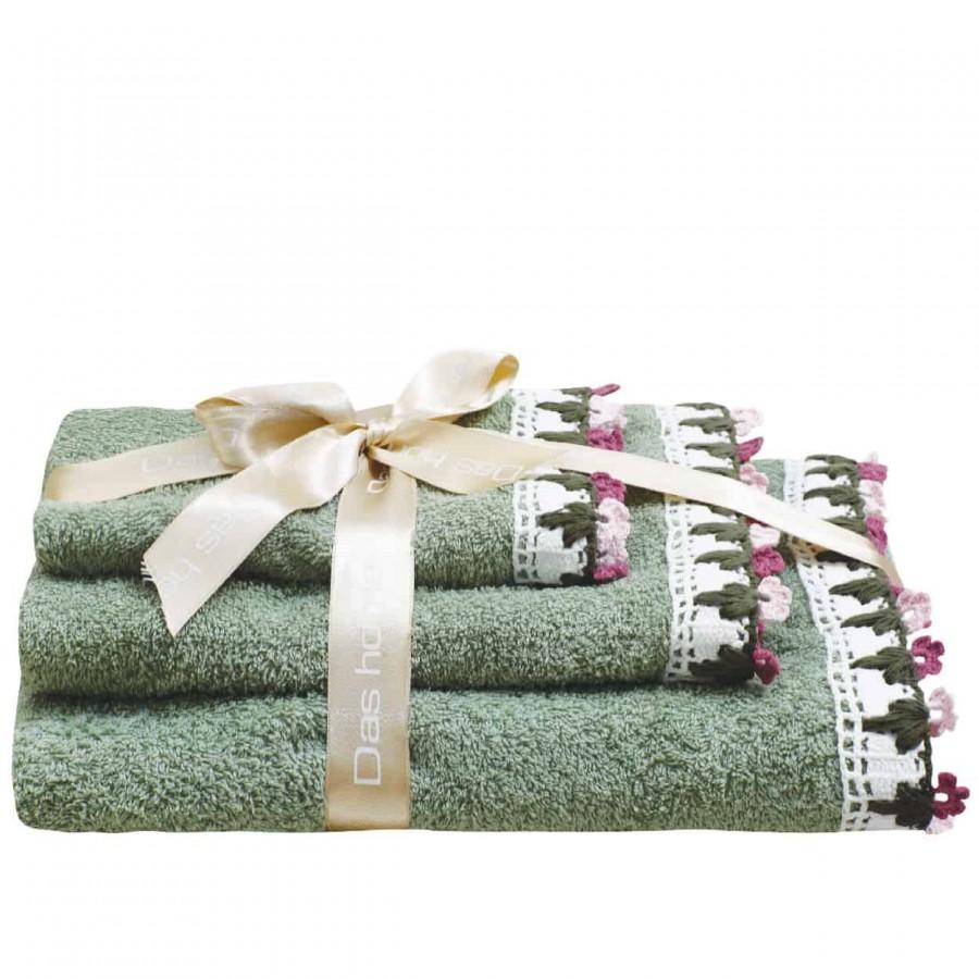 Πετσέτες Μπάνιου Das Home Prestige Line 311 Σετ 3τμχ