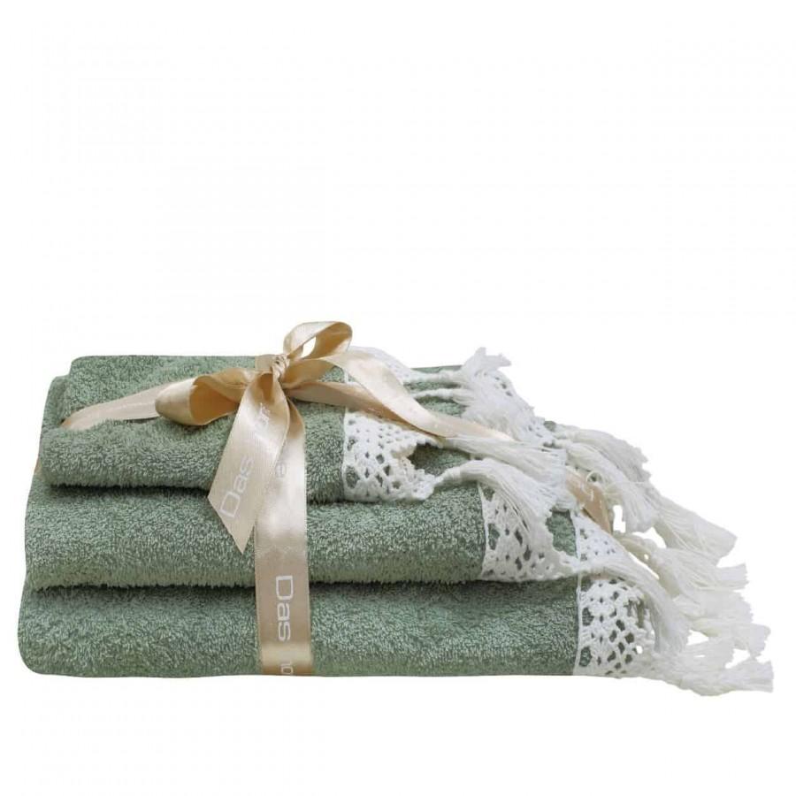 Πετσέτες Μπάνιου Das Home Prestige Line 312 Σετ 3τμχ