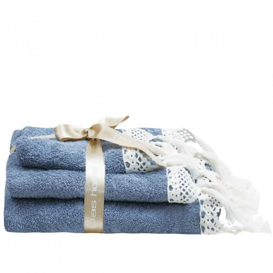 Πετσέτες Μπάνιου Das Home Prestige Line 313 Σετ 3τμχ