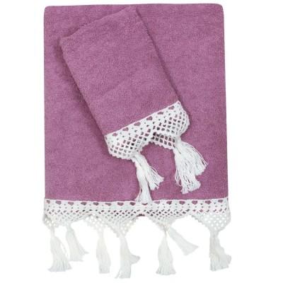 Πετσέτες Μπάνιου Das Home Prestige Line 324 Σετ 3τμχ