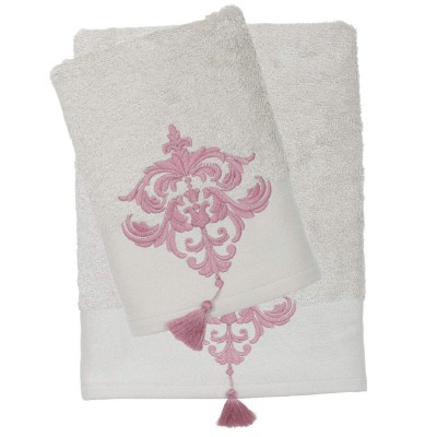 Πετσέτες Μπάνιου Das Home Prestige Line 332 Σετ 3τμχ