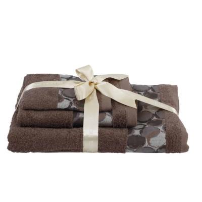 Πετσέτες Μπάνιου Σετ Das Home Best 357