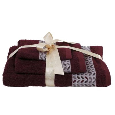 Πετσέτες Μπάνιου Σετ Das Home Best 359