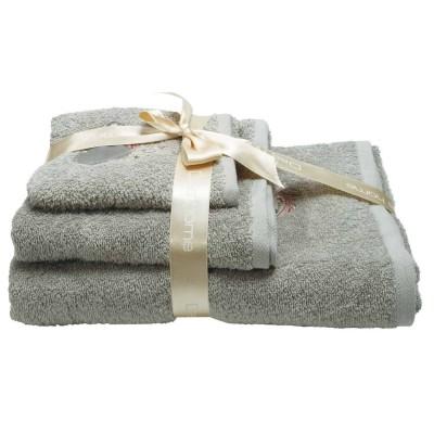 Πετσέτες Μπάνιου Σετ Das Home Daily 363