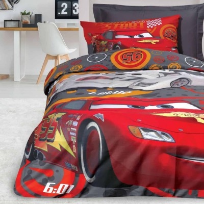 Σετ Παπλωματοθήκη Μονή Cars 5009 160x240