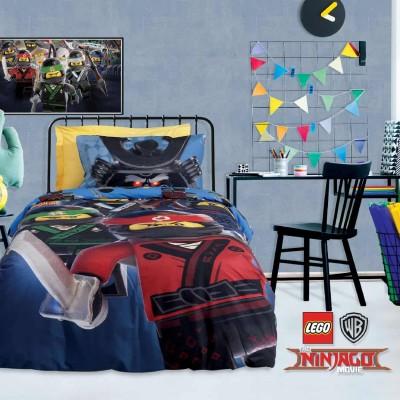 Σετ Παπλωματοθήκη Μονή Ninjago Lego 5008 160x240