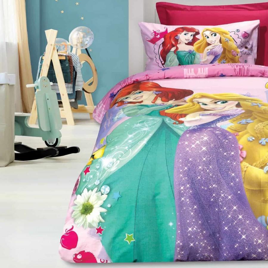 Σετ Παπλωματοθήκη Μονή Princess 5012 160x240