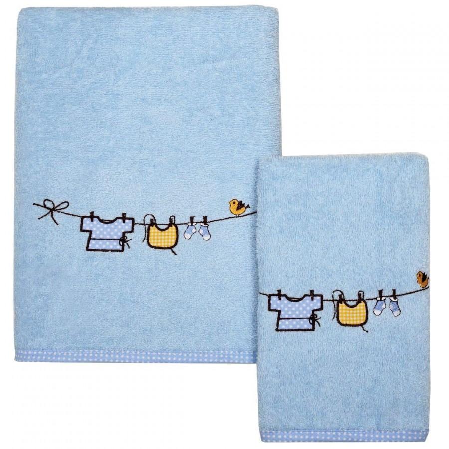 Σετ Βρεφικές Πετσέτες Das Home 6431 2 Τεμ 30x50 - 70x130