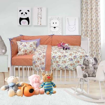Σετ Βρεφική Παπλωματοθήκη Baby Fun 6416 120x160