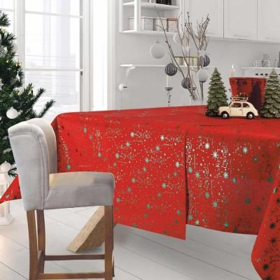 Τραπεζομάντηλο Χριστουγεννιάτικο 574 Das 140x220